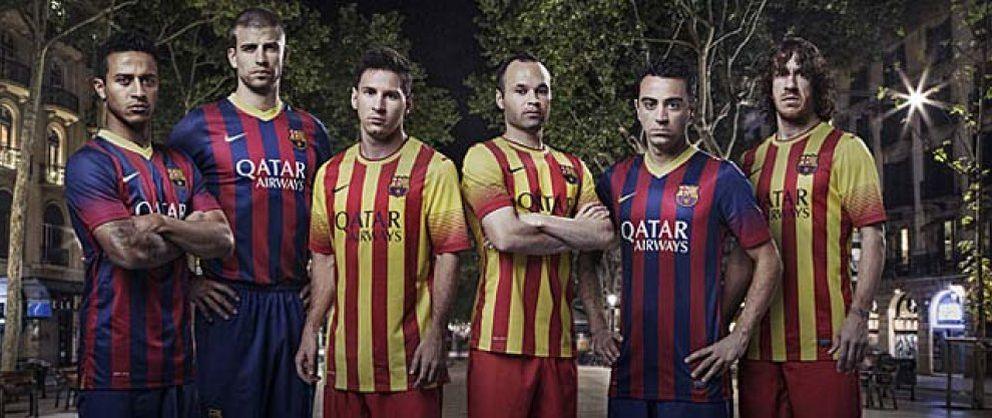 Foto: El Barcelona vestirá la 'Senyera' en su camiseta por primera vez en su historia