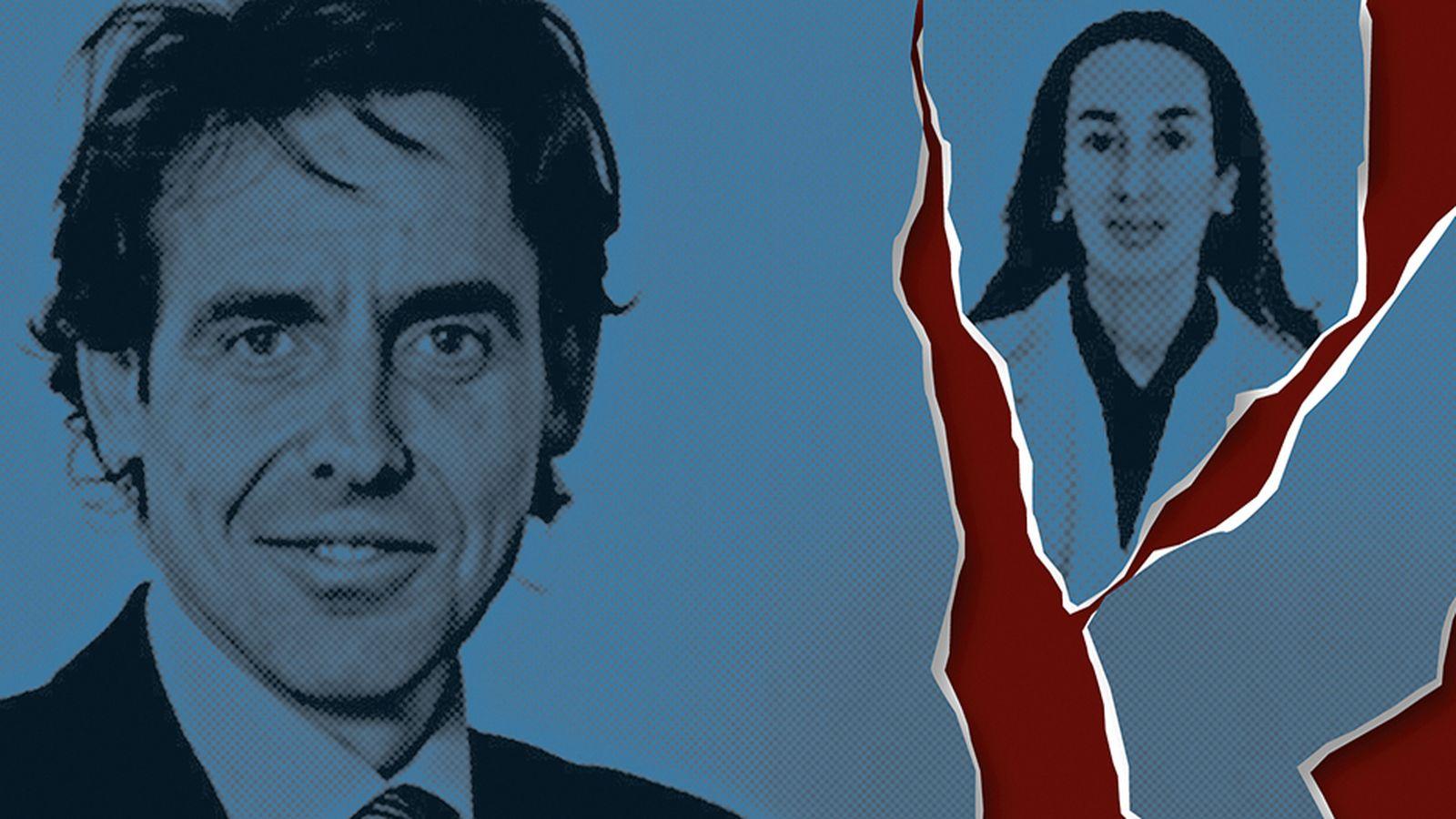 Foto: Javier López Madrid y Elisa Pinto Romero, en un fotomontaje realizado por Vanitatis.
