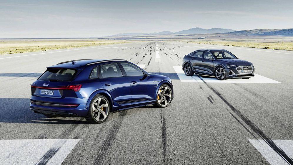 Foto: Estética aún más llamativa en los nuevos e-tron S de Audi que ya están a la venta.