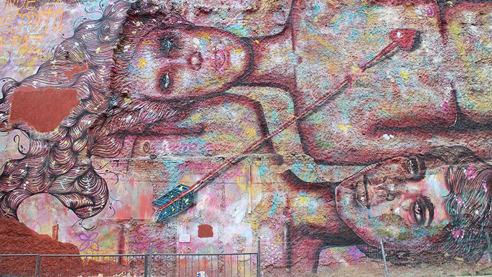 Mientras Madrid los multa, Río es el auténtico paraíso de los grafiteros