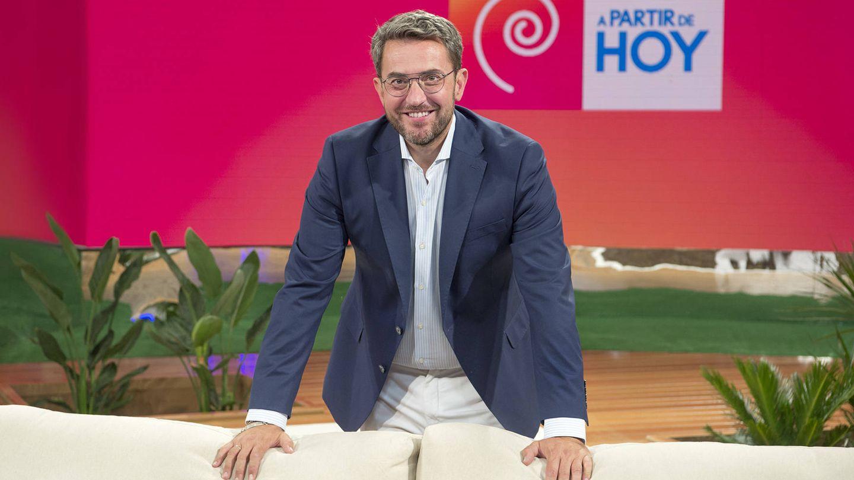 Máximo Huerta, en el programa 'A partir de hoy'. (RTVE)