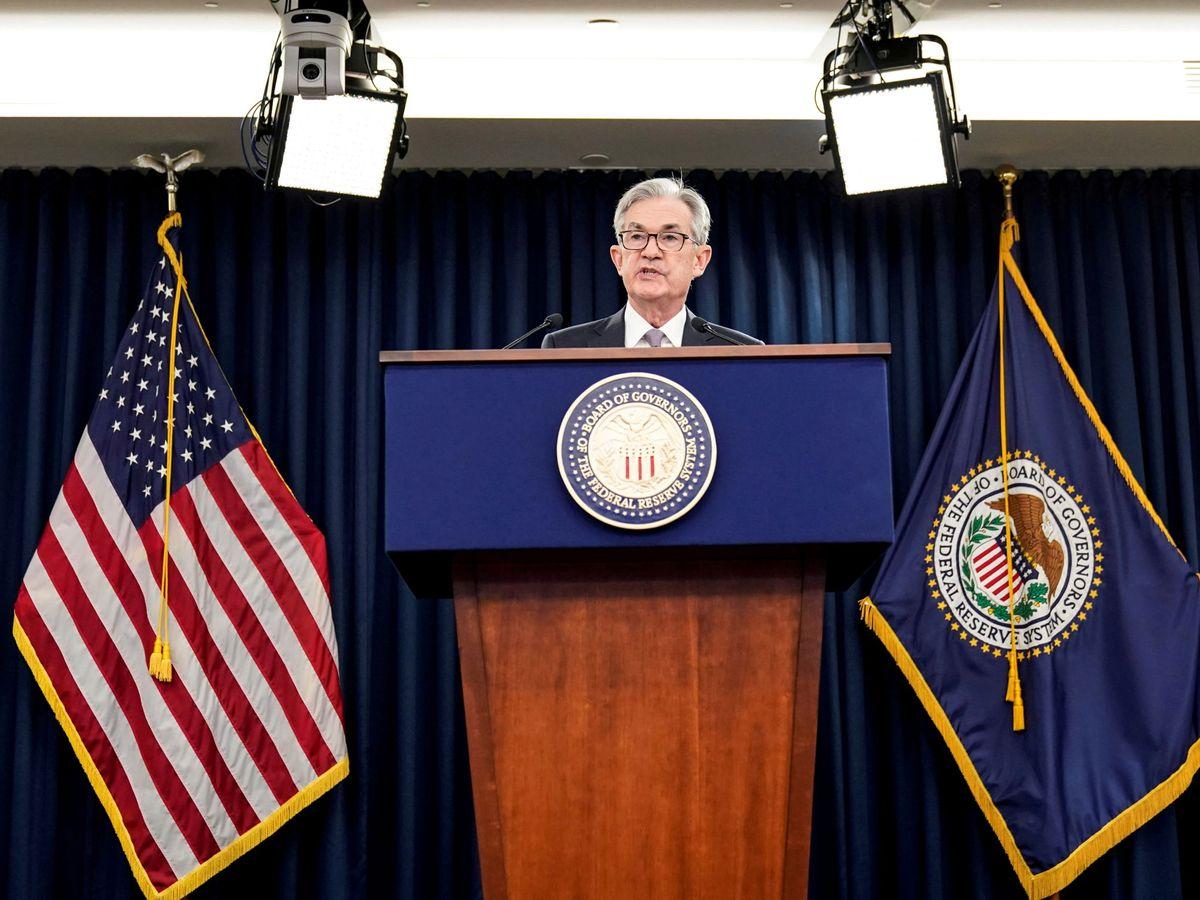 Foto: Presidente de la Reserva Federal, Jerome Powell (Reuters)