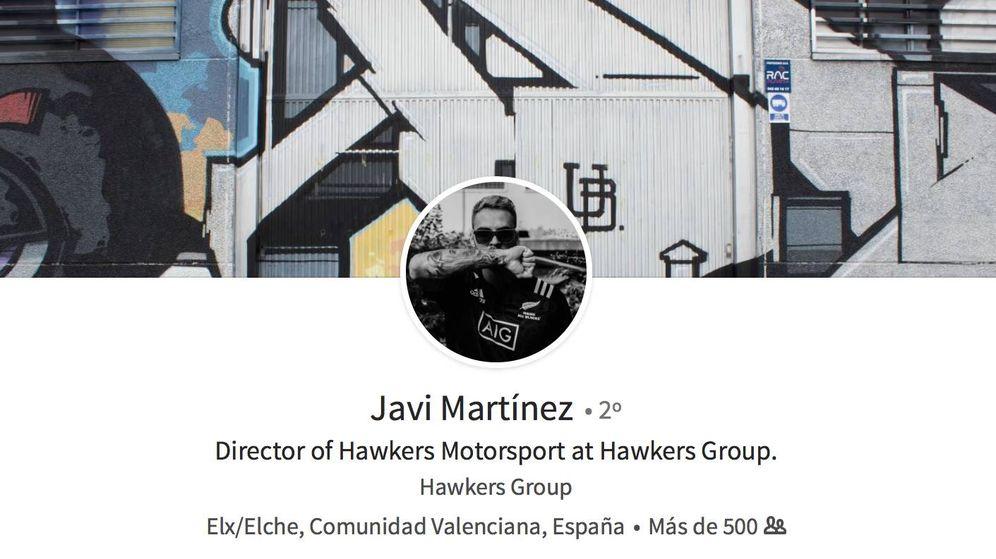 Foto: Javier Martínez se presenta ahora como responsable de Motorsport del Grupo Hawkers.