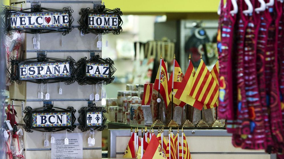 Foto: Tienda de 'souvenirs' de Barcelona | EFE