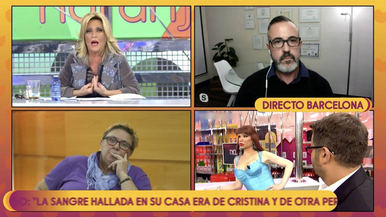 Óscar Tarruella en 'Sálvame'. (Mediaset España)