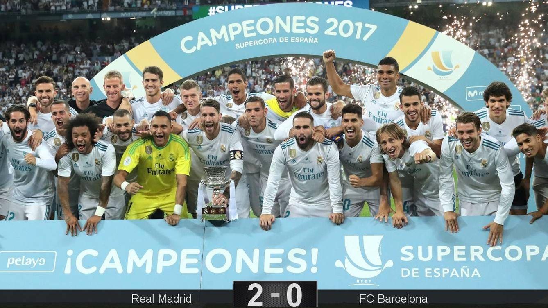 Foto: La décima Supercopa del Real Madrid. (Reuters)