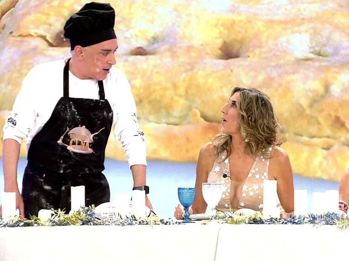 Foto: 'La última cena'. (Telecinco)