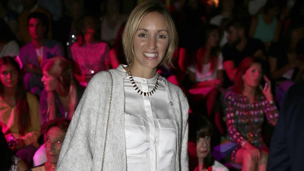 La novia de Albert Rivera eclipsa al resto del 'front row' de Ruiz de la Prada