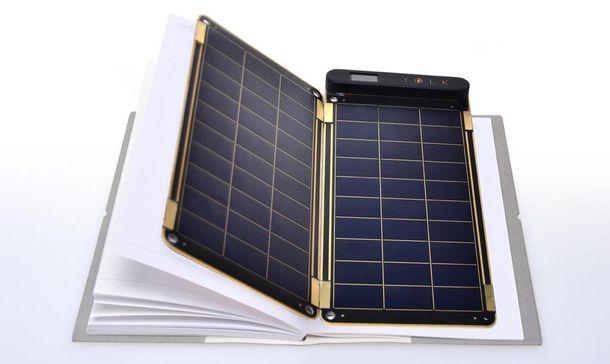 Foto: Solar Paper, un cargador solar para el móvil que cabe dentro de un cuaderno