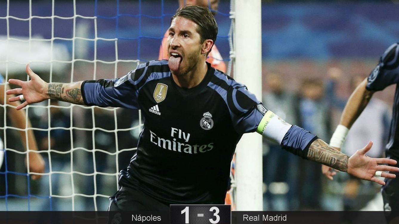 Foto: Ramos volvió a ser el héroe del Real Madrid (Ciro De Luca/Reuters).
