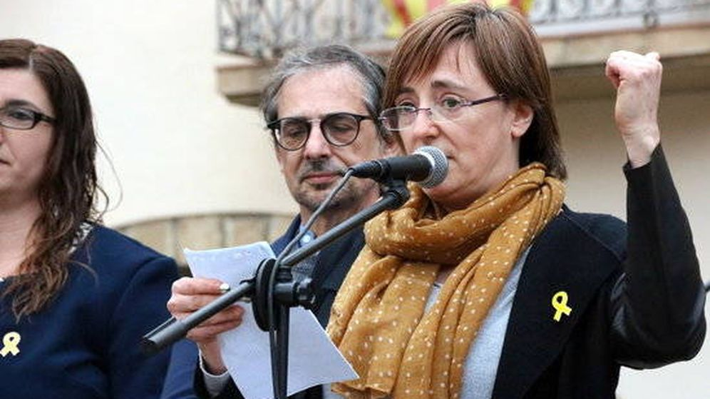 Foto: Anna Puigdemont, hermana del 'expresident'.