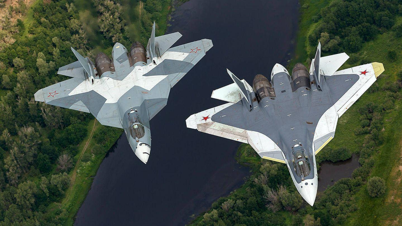 El Su-57 ruso. (Vadim Savitsky)