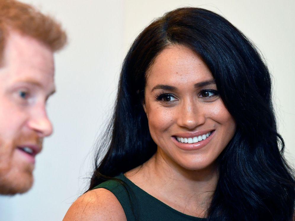 Foto: Meghan Markle y el príncipe Harry, en una imagen reciente. (Reuters)