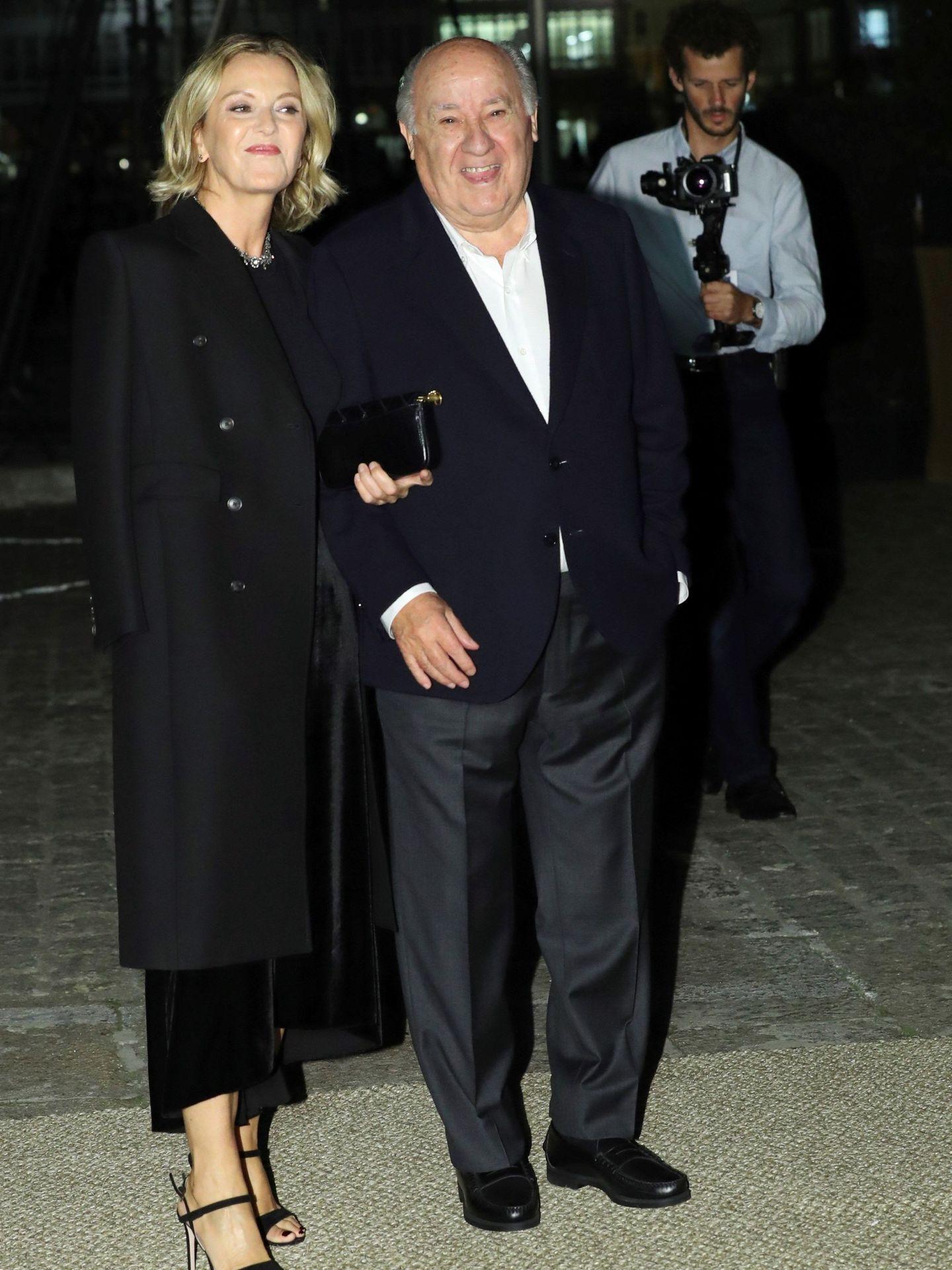 Amancio Ortega a su llegada al Real Club Náutico de A Coruña, donde se celebra el cóctel de la boda de Marta Ortega y Carlos Torretta. (EFE)