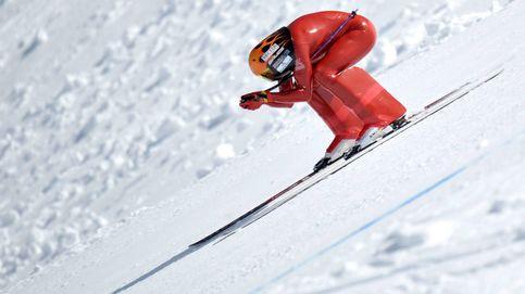 Para correr como un Fórmula 1 hace falta tener… dos esquís