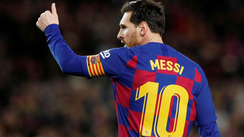 Leo Messi. (Reuters)
