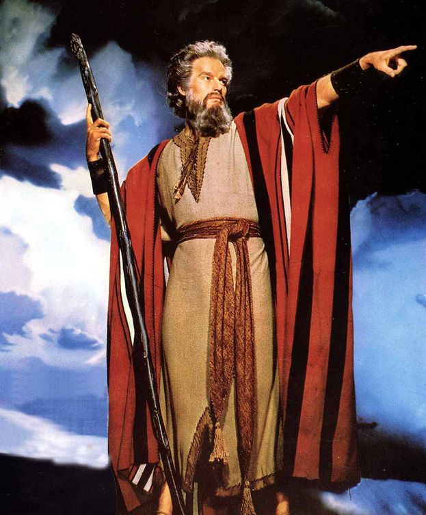 Foto: Fotograma de 'Los diez mandamientos'. (CP)