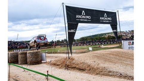 ANONIMO, cronometrador oficial del WRC