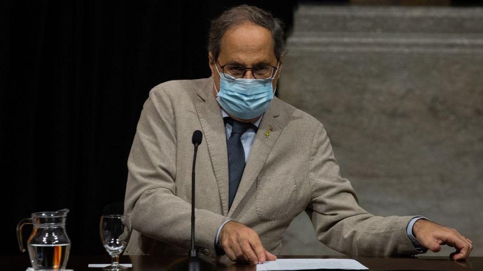 Cataluña roza los 100.000 contagios entre críticas a Torra por la falta de recursos