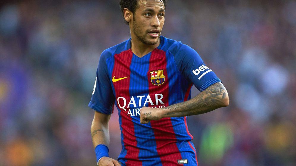 Foto: Neymar en el último partido con el Barcelona, ante el Villarreal. (EFE)