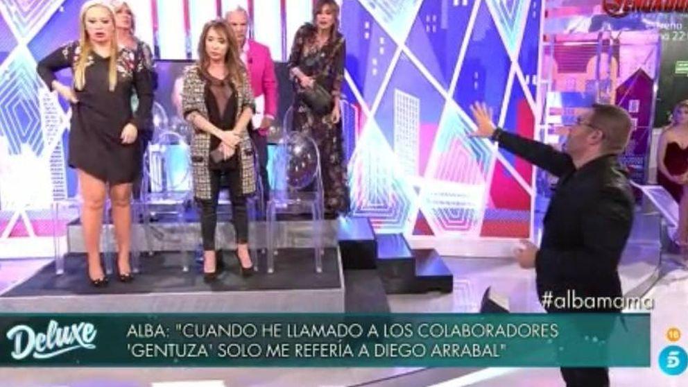 Los colaboradores del 'Deluxe' se rebelan contra Jorge Javier por proteger a Carrillo