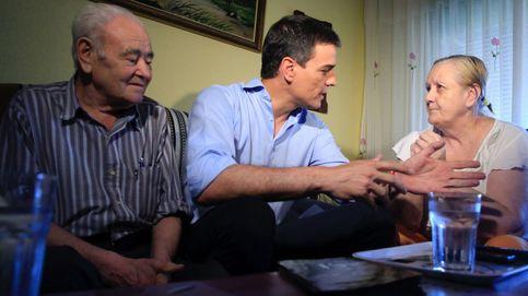 Sánchez se mete hasta la cocina para pedir el voto al PSOE