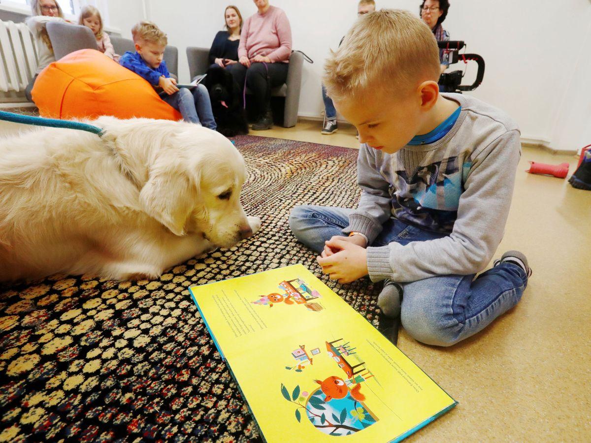 Foto: Un niño autista durante una terapia. Foto: REUTERS Ints Kalnins