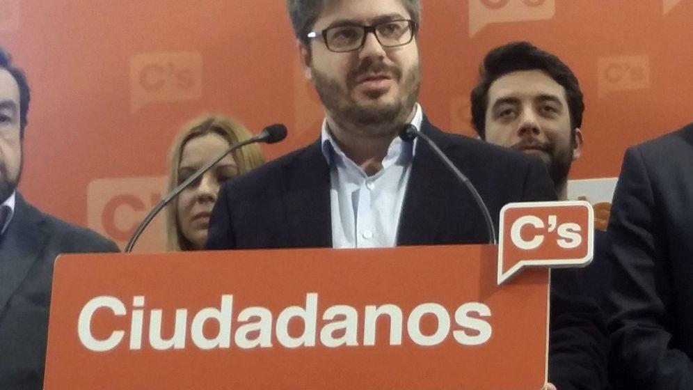 Foto: El secretario de Organización de Cs, Fran Hervías. (EFE)