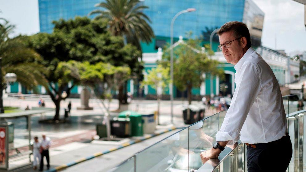 Feijóo se resigna a Galicia con su discurso más reivindicativo