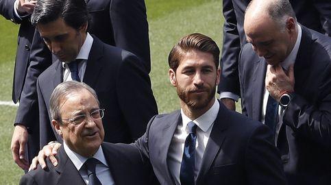 Solo Sergio Ramos puede disputar la presidencia a Florentino Pérez