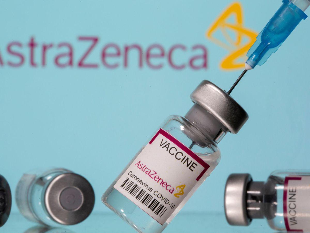 Foto: Vacuna de AstraZeneca. (Reuters)
