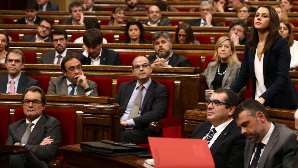 C's valora ya elecciones anticipadas ante la tensión y el bloqueo en el Parlament