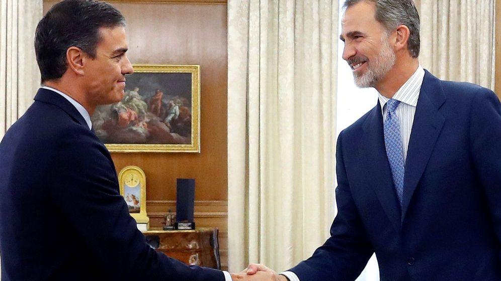 Foto: Pedro Sánchez y el rey Felipe VI. (EFE)