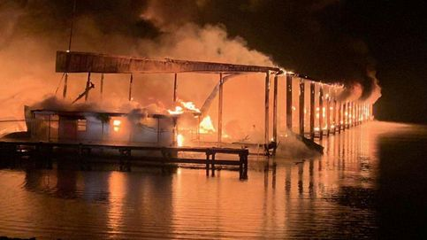 Ocho muertos en el incendio de un muelle en Alabama: Despertamos con los gritos