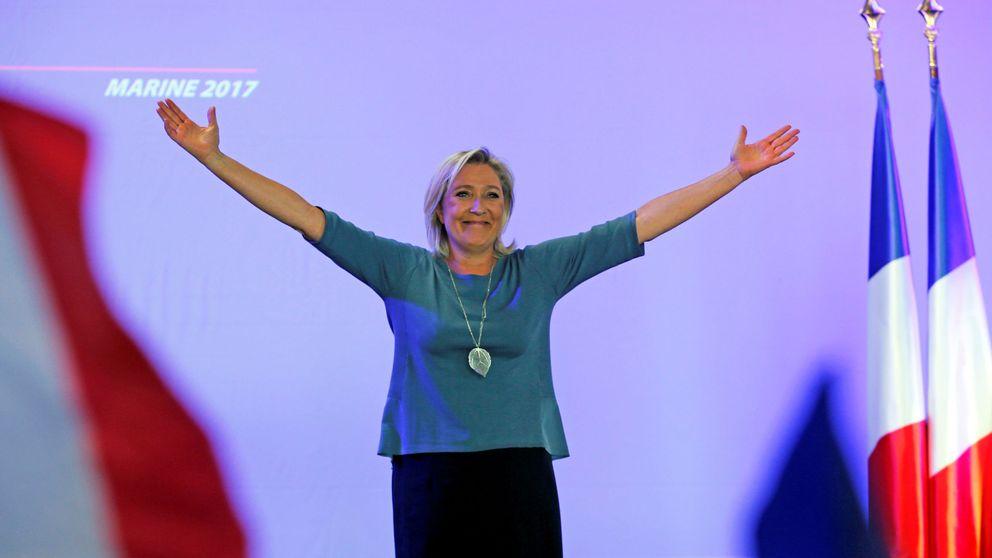 Marine Le Pen  felicita a Trump como nuevo presidente de Estados Unidos