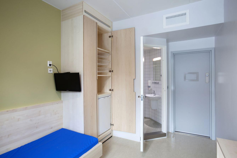 El interior de una celda de la prisión de Halden, en Noruega (Reuters).