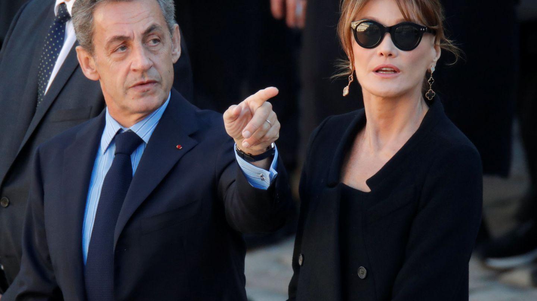 Carla Bruni y Nicolas Sarkozy. (Reuters)