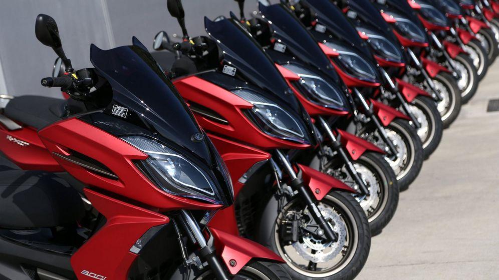 Foto: Honda y Kymco, líderes del mercado de motos