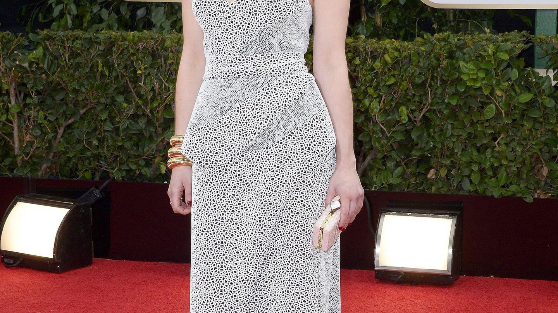 Emilia Clarke en los Globos de Oro de 2014. (EFE)