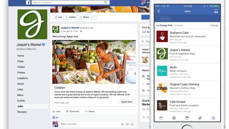Facebook ya te deja buscar empleo como LinkedIn (y por qué jamás lo encontrarás)