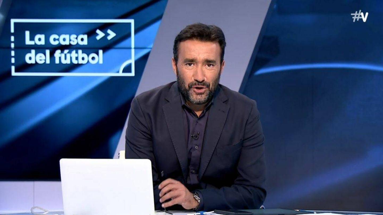 Juanma Castaño, presentador de 'El partidazo'. (Movistar )