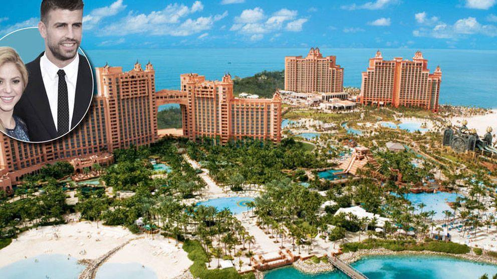 Piqué, Shakira y  sus vacaciones en el hotel más caro de Bahamas