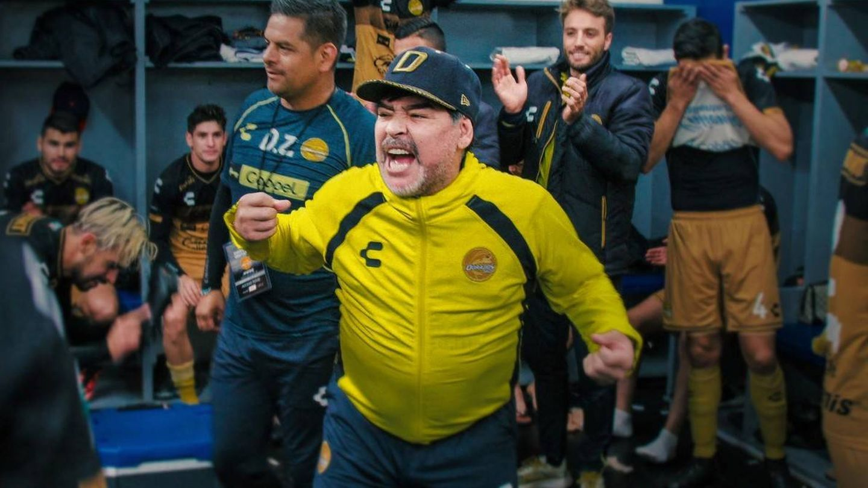 Imagen de la serie 'Maradona en Sinaloa'. (Netflix)