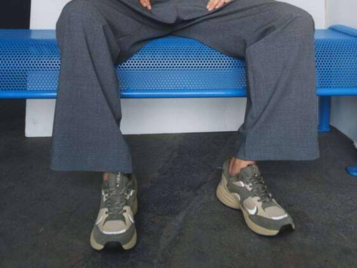 Foto: Las zapatillas deportivas de Zara. (Cortesía)