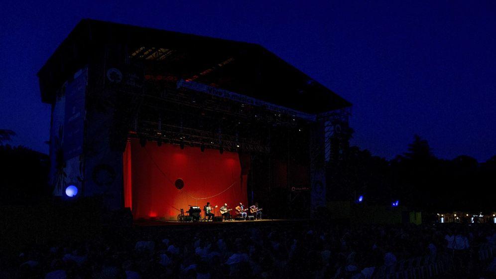 Foto: Concierto de Caetano Veloso en las Noches del Botánico de 2018. (EFE)