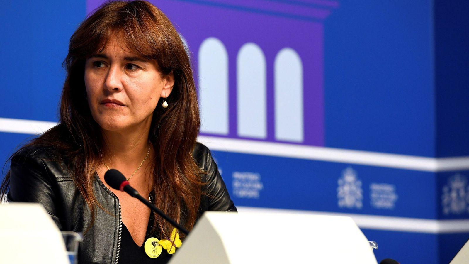 Foto: La consejera catalana de Cultura, Laura Borràs. (EFE)