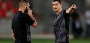Post de Zidane y Cristiano salen al rescate de Karim Benzema