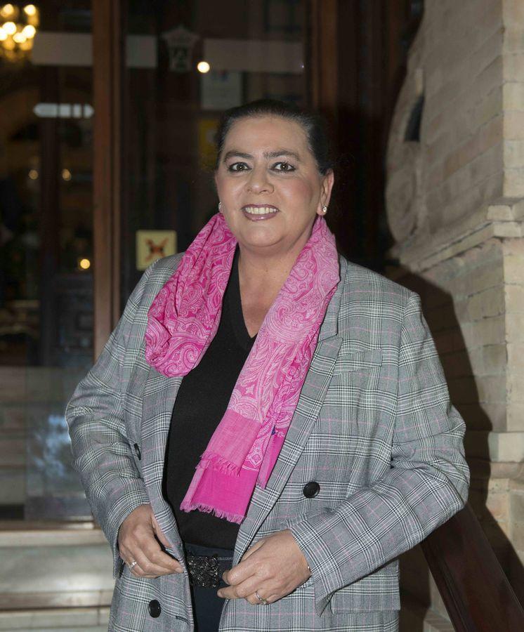 Foto: María del Monte, multada. (Cordon Press)