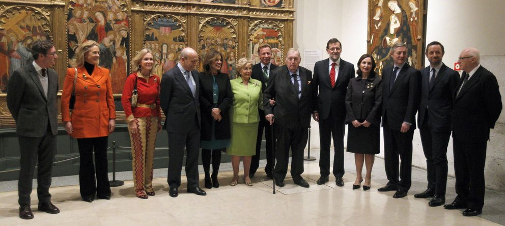 Foto: Donación de la familia Várez Fisa al Museo del Prado, en enero de 2013 (EFE)