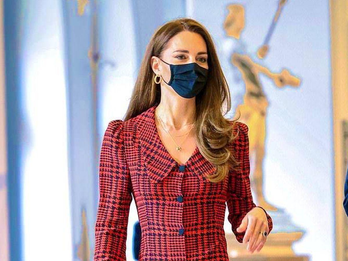 Foto: Kate Middleton, en una de sus últimas apariciones públicas. (PA)